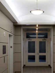 commercial electrical - elevator corridor